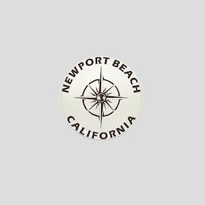 California - Newport Beach Mini Button