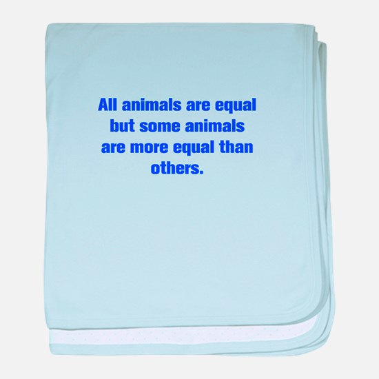 All animals are equal but some animals are more eq