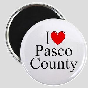 """I Love Pasco County"" Magnet"