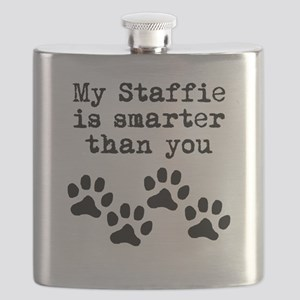 My Staffie Is Smarter Than You Flask