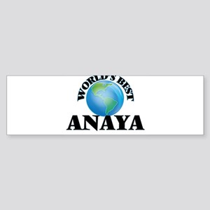 World's Best Anaya Bumper Sticker