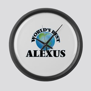 World's Best Alexus Large Wall Clock