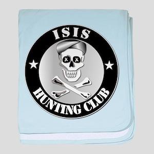 ISIS Hunting Club baby blanket