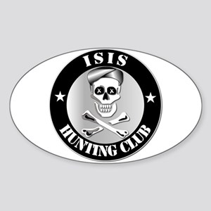 ISIS Hunting Club Sticker (Oval)