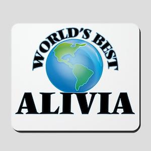 World's Best Alivia Mousepad
