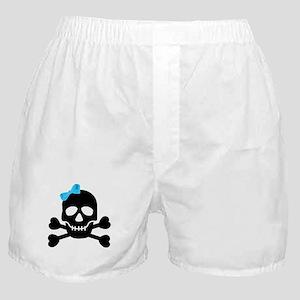 Pirate Girl Boxer Shorts