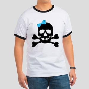 Pirate Girl Ringer T