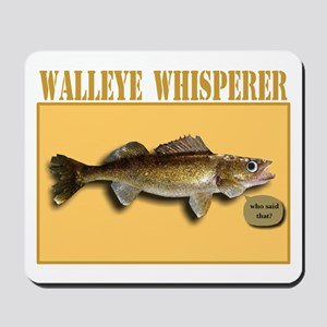 Walleye Whisperer Mousepad