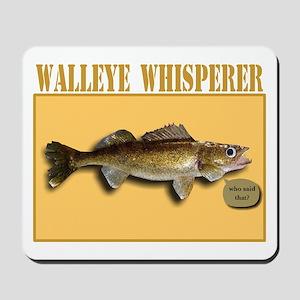 Walleye Whisperer Mousepad