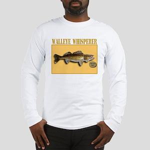 Walleye Whisperer Long Sleeve T-Shirt