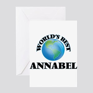 World's Best Annabel Greeting Cards