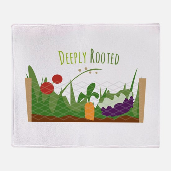 Deeply Rooted Throw Blanket