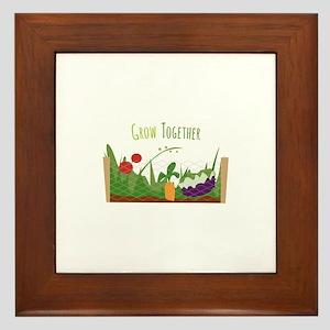 Grow Together Framed Tile