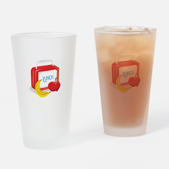 Lunch Box Drinking Glass