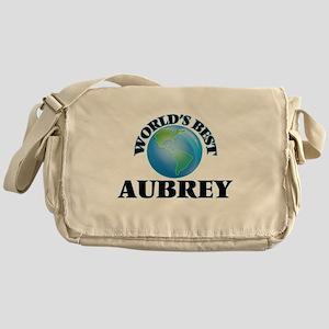 World's Best Aubrey Messenger Bag