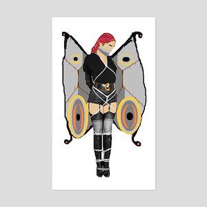 Dark Bondage Fairy Rectangle Sticker