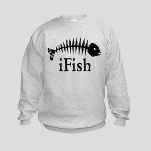 I Fish Kids Sweatshirt