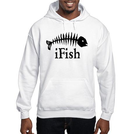 I Fish Hooded Sweatshirt