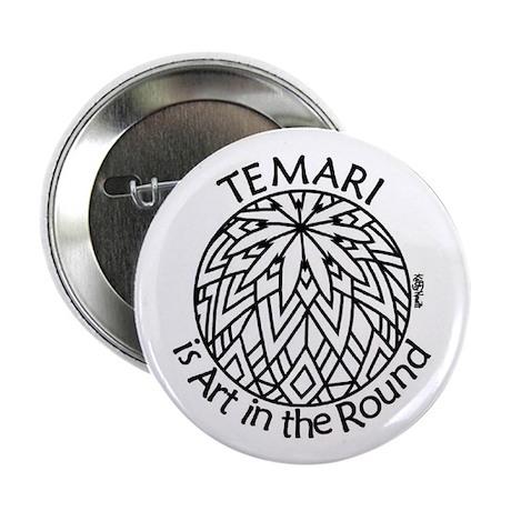 Temari is Art in the Round Button