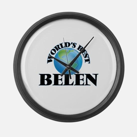 World's Best Belen Large Wall Clock