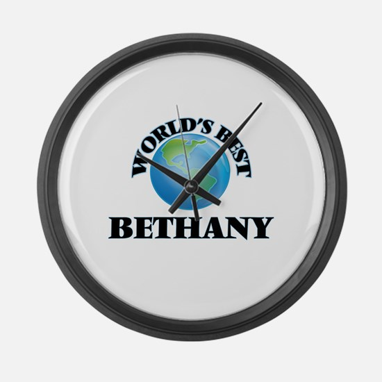 World's Best Bethany Large Wall Clock