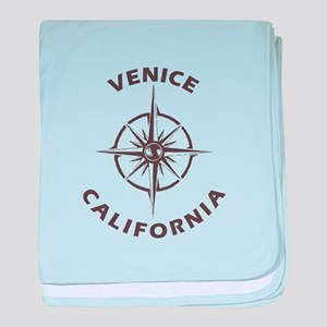 California - Venice baby blanket