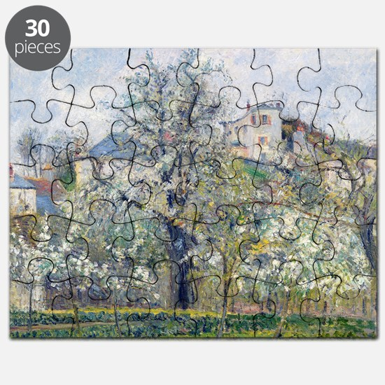 The Vegetable Garden with Trees in Blosso - Puzzle