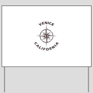 California - Venice Yard Sign