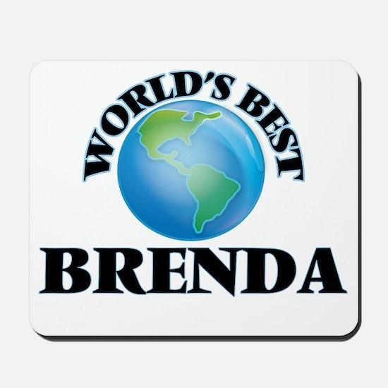World's Best Brenda Mousepad