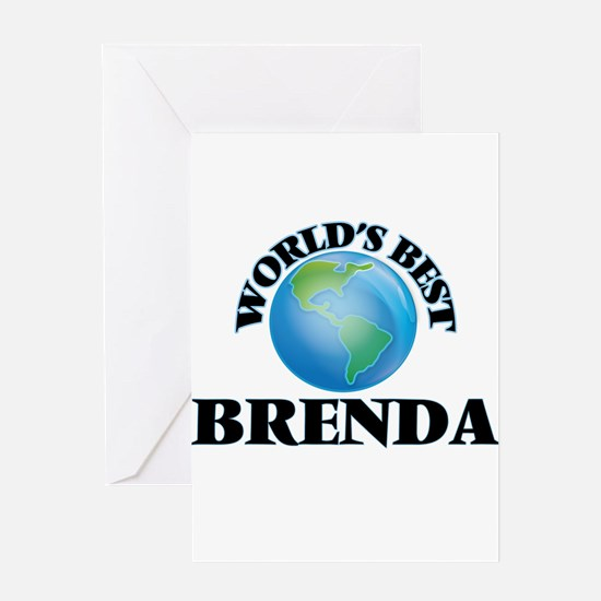 World's Best Brenda Greeting Cards