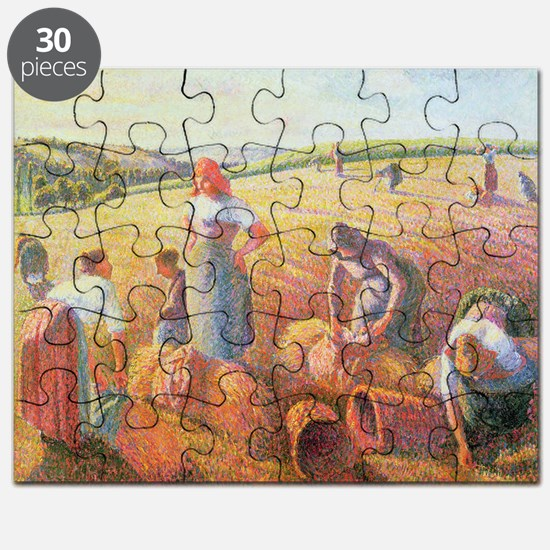 The Gleaners, 1889 (oil on canvas) - Puzzle