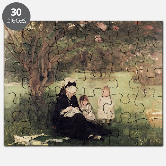 Beneath the Lilac at Maurecourt, 1874 (oi - Puzzle