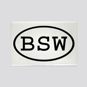 BSW Oval Rectangle Magnet