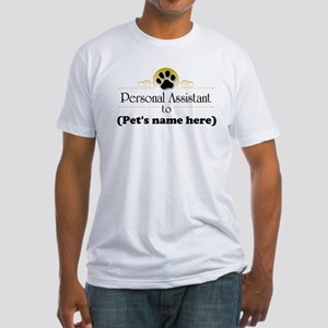 Pet Personal Assistant (Dog) Fitted T-Shirt