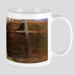 Paul Gauguin Blue Barge Mug