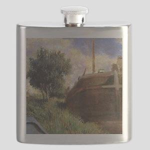 Paul Gauguin Blue Barge Flask