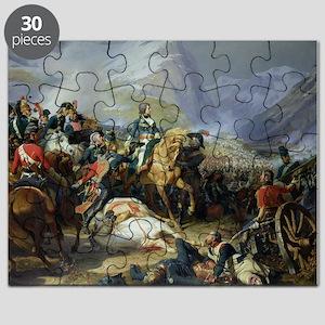 The Battle of Rivoli, 1844 (oil on canvas - Puzzle