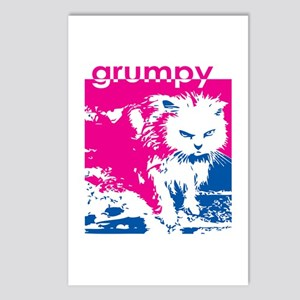 Grumpy Kitty Pink Postcards (Package of 8)