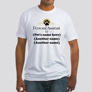 Pet Personal Assistant (Multiple Pets) Fitted T-Sh