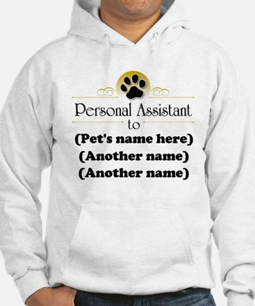 Pet Personal Assistant (Multiple Pets) Jumper Hoody