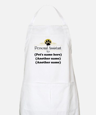 Pet Personal Assistant (Multiple Pets) Apron