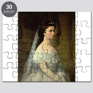 Elizabeth of Bavaria (1837-98), Empress o - Puzzle