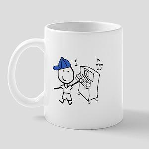 Boy & Piano Mug