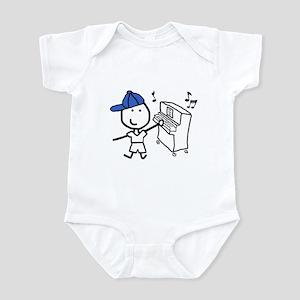 Boy & Piano Infant Bodysuit