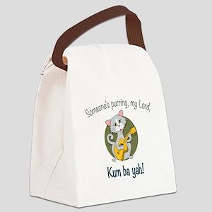 Kumbayah Kitty Canvas Lunch Bag