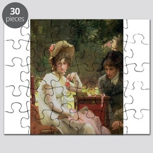 In Love, 1907 (oil on canvas) - Puzzle