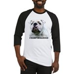 BULLDOG SMILES Baseball Jersey