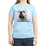 BULLDOG SMILES Women's Light T-Shirt