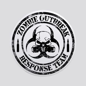 Zombie Outbreak Response Team Ornament (Round)