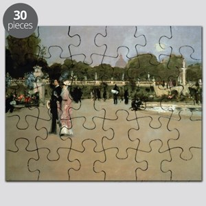 Luxembourg Gardens at Twilight - Puzzle